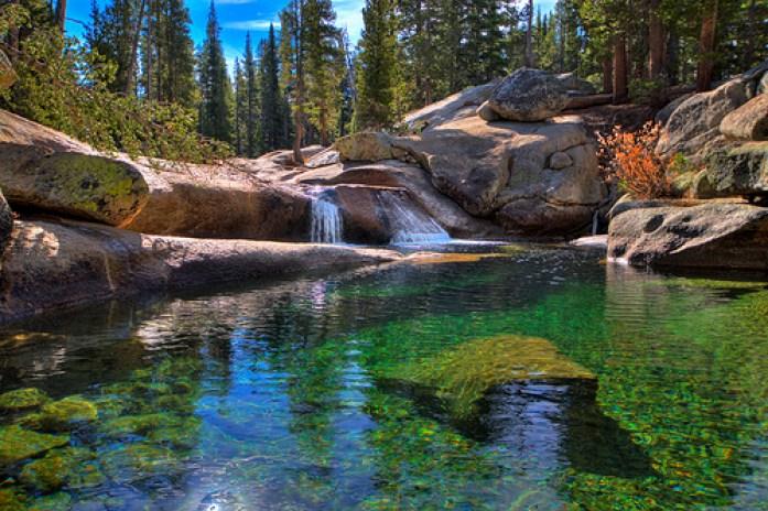 Yosemite National park Tuolumne Meadow