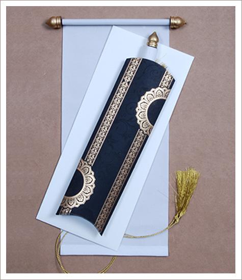 123 scroll wedding cards, scroll wedding invitations, scroll invitations