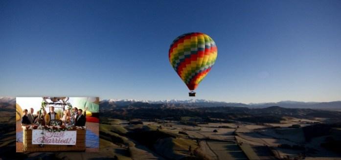 Hot Air Balloon Wedding - IndianWeddingCards