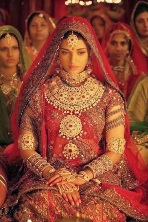 Beautiful Rajasthani Bride - IndianWeddingCards