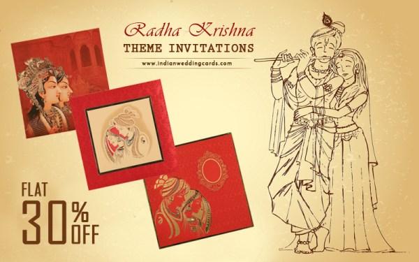 Theme Wedding Invitations Offers -IndianWeddinCards