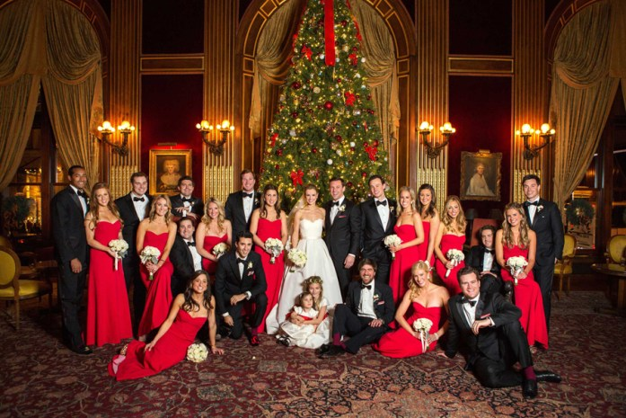 Christmas Inspired Wedding Ideas For Your Winter Wedding
