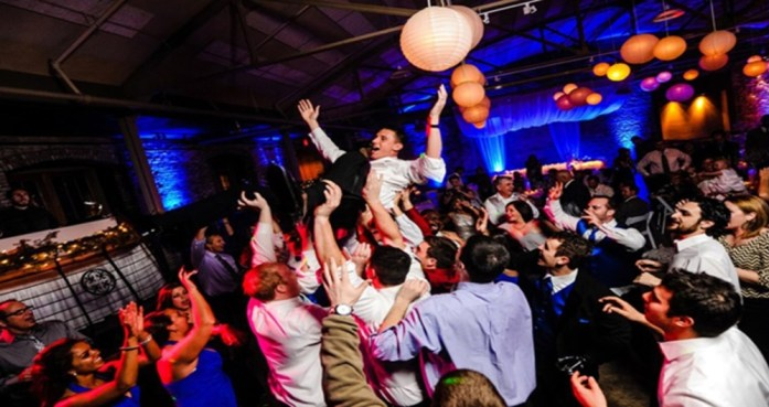 DJ party wedding reception