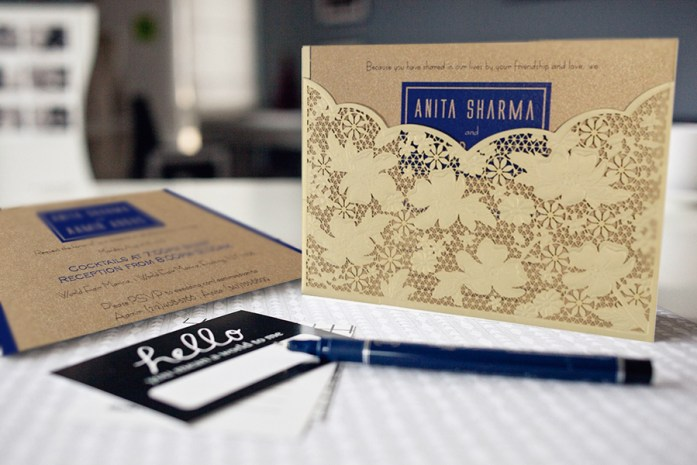 Make Your Own Laser Cut Wedding Invitations