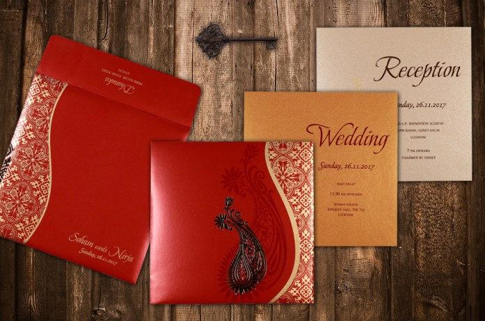 foil stamped invitations CD-1742