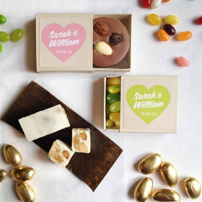 Chocolate box-IndianWeddingCards