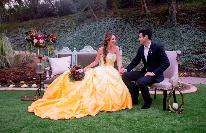 Disney photoshoot-Disney wedding inspiration ideas