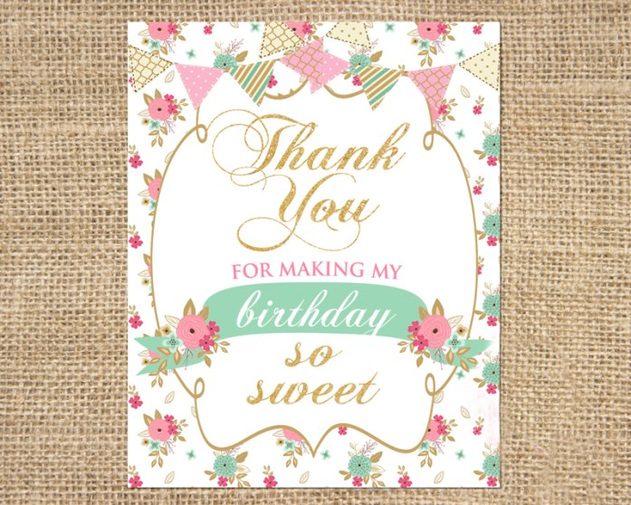 glitter thank-you notes
