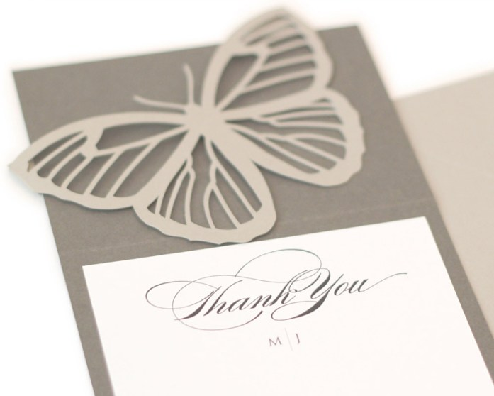 laser cut thank you notes