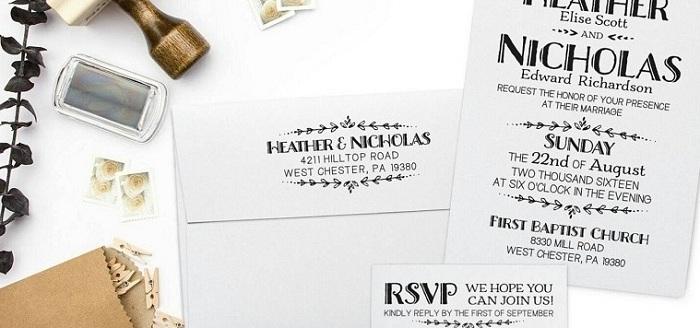 Stunning Wedding Stamps