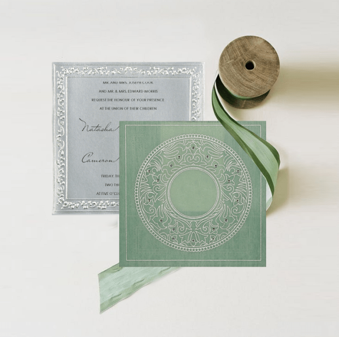 Cactus themed invite CW-8214P
