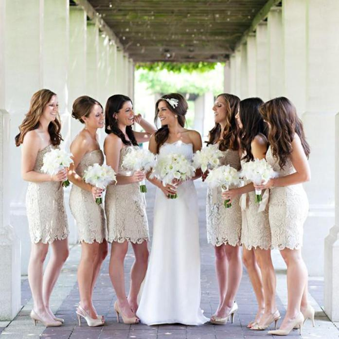 Wedding bridesmaids dresss