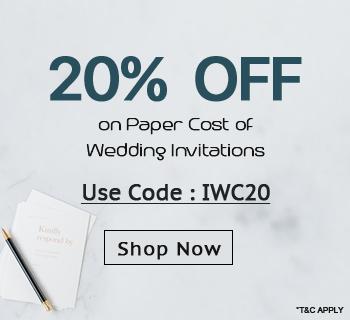 Wedding Invitations Sale Get 20% OFF-IndianWeddingCards