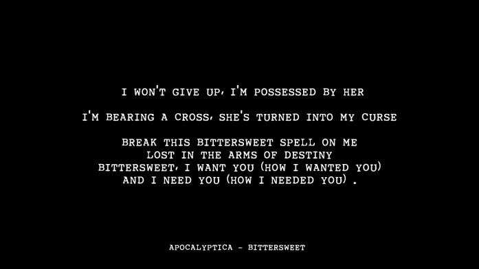 Apocalyptica – Bittersweet -Metal-wedding-songs- IndianWeddingCards
