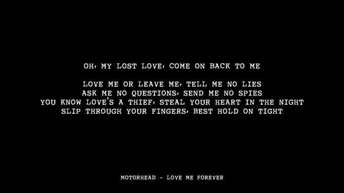 Motorhead - Love Me Forever -Metal-wedding-songs- IndianWeddingCards