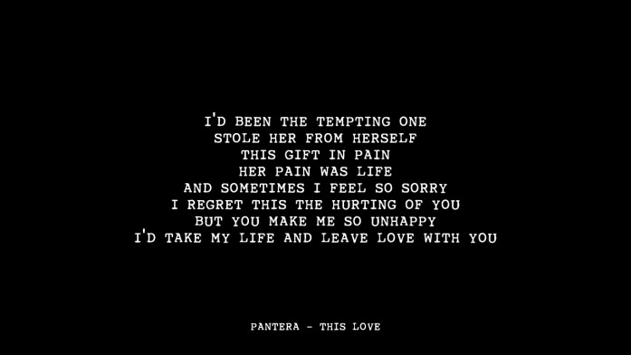 Pantera-This-Love-Metal-wedding-songs-IndianWeddingCards