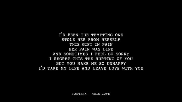 Pantera-This-Love-Metal-wedding-songs-IndianWeddingCards