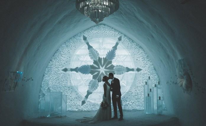 Lapland Ice Chapel Wedding