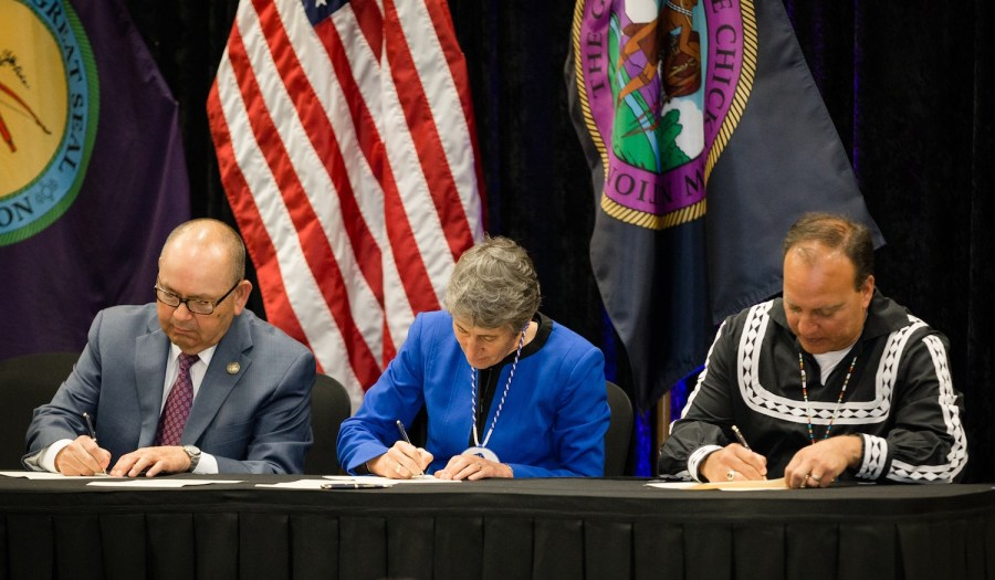 Choctaw Nation and Chickasaw Nation celebrate trust settlement
