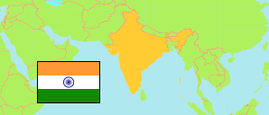 States and Union territories of India with Capital Area and Population