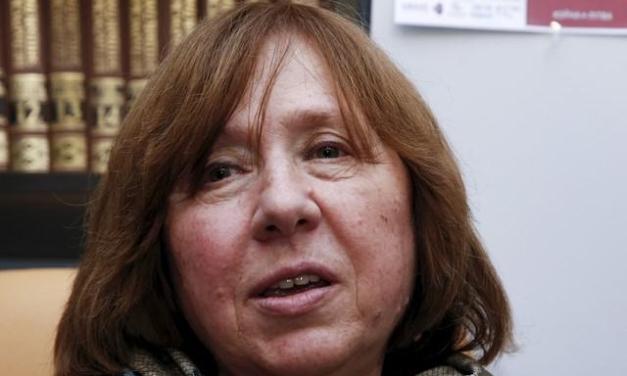 Svetlana Alexievich wins Nobel Literature prize