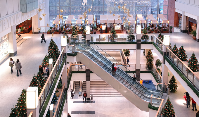How to utilize space in malls for maximum impact and profitability?