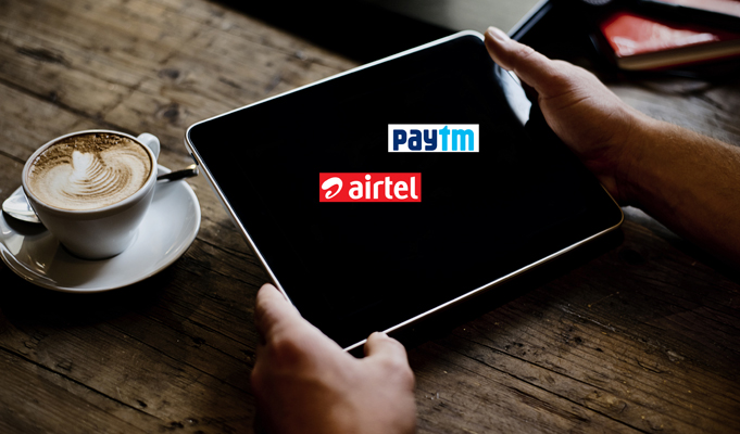 Paytm integrates wallet on Airtel website, MyAirtel app