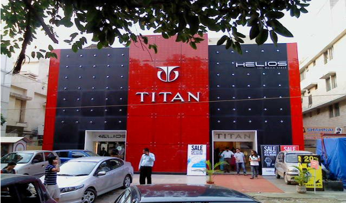 Titan Company's income drops by 5.2 pc in 2015-16