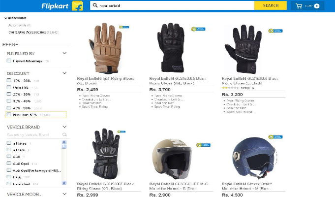 Flipkart to sell Royal Enfield gears, accessories