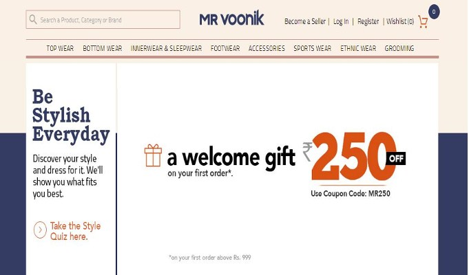 With over two lakh products listed and 3,5000 plus sellers available on Mr Voonik already, the fashion marketplace is set to grow exponentially.
