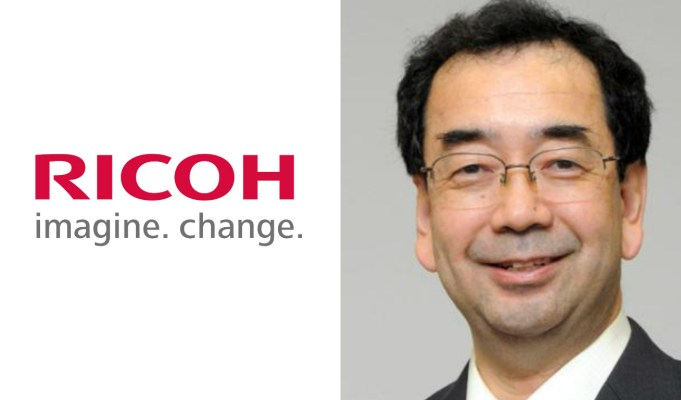 Ricoh India Chairman Tetsuya Takano puts down his papers