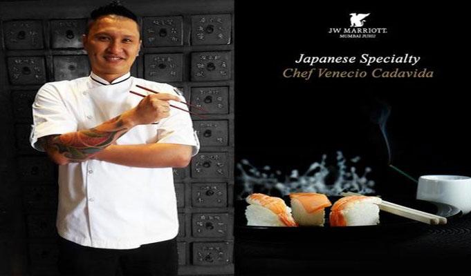 With experience comes innovation and creativity, says Chef Venecio Cadavida