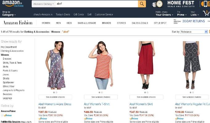 Aditya Birla's Abof debuts on Amazon Fashion