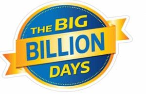 Flipkart is back with its third edition of Big Billion Days sale