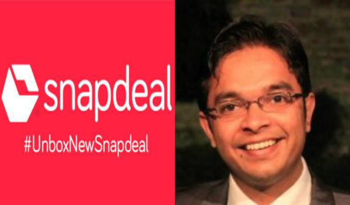 Snapdeal appoints Mayank Jain to head supply chain