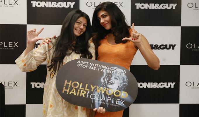 Toni&Guy organises Hollywood glam pamper party with Olaplex and Archana Vijaya