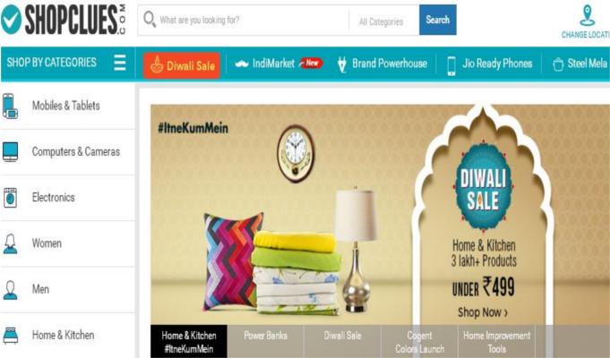 Diwali Sales: ShopClues clocks 5x increase in net business