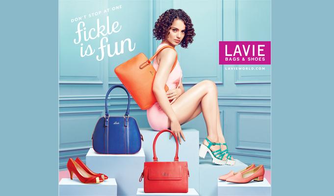 Lavie unveils latest ad campaign featuring Kangana Ranaut