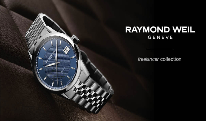 Titan's Helios partners with Swiss watchmaker Raymond Weil