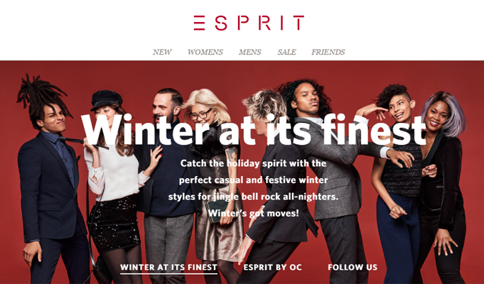 Myntra adds International casual fashion brand Esprit on its platform