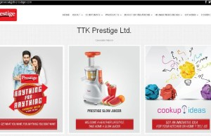TTK Prestige eyes 15 pc rise in turnover this fiscal