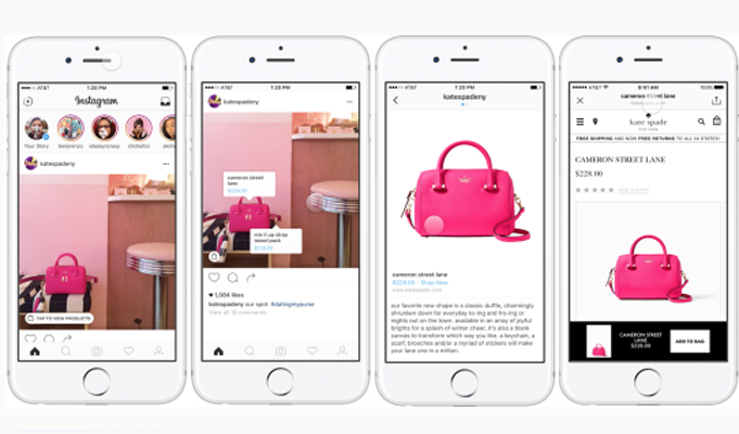 Instagram to enter the m-shopping segment