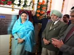 Union Minister Harsimrat Kaur Badal inaugurated the modern dairy and ice cream unit of Verka