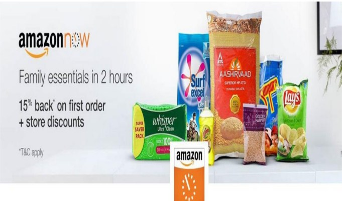 AmazonNow app introduced in Delhi, Mumbai