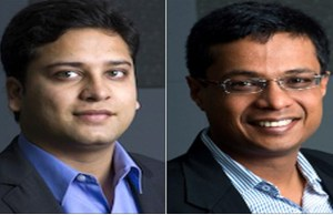 Flipkart's Bansals named 'Asians of the Year' by Straits Times