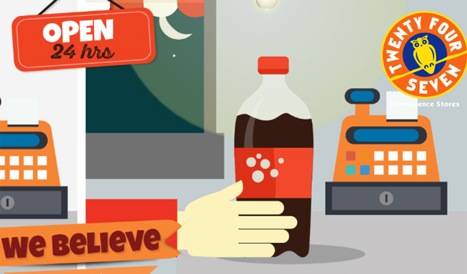 Twenty Four Seven convenience store ties up with FreeCharge for cashless groceries