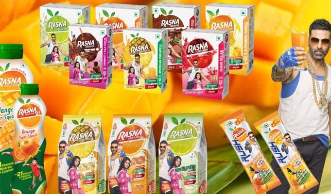 Rasna eyes Rs 250 cr revenue in next three years from snack category