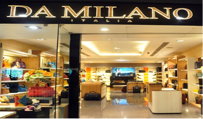 Da Milano goes global; open first store in Dubai