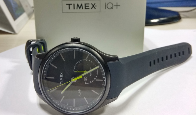 Timex's latest tech innovation, IQ+ Move is a smartwatch-cum-fitness tracker