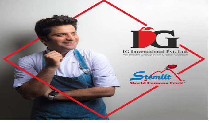IG International signs up celebrity chef Kunal Kapur as the brand ambassador for Stemilt Growers